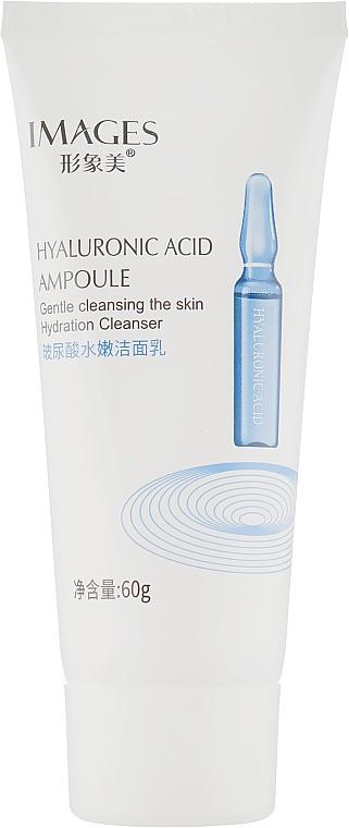 Пенка для умывания c гиалуроновой кислотой - Images Hyaluronic Acid Cleanser