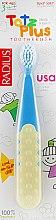 Духи, Парфюмерия, косметика Зубная щетка детская, желто-голубая - Radius Tots Plus Toothbrush