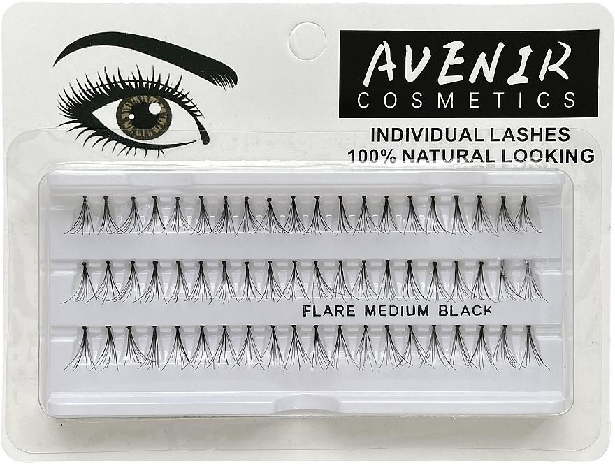 Накладные ресницы пучковые, 12мм - Avenir Cosmetics