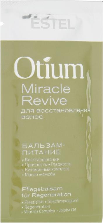 Бальзам-питание для восстановления волос - Estel Professional Otium Miracle Revive Balm (пробник)