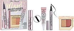 Духи, Парфюмерия, косметика Набор - Too Faced Major Must-Haves Makeup Set (f/primer/5ml+mascara/3.9g+blush/2.83g+eyeliner/0.4g)
