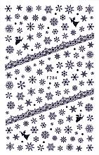 Духи, Парфюмерия, косметика Наклейки для ногтей, черные, 80х130 мм - Vizavi Professional