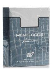 Духи, Парфюмерия, косметика Marc Bernes Men's Code Platinum - Туалетная вода