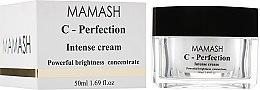 Духи, Парфюмерия, косметика Активный крем для лица с витамином С - Mamash Organic С-Perfection Intense Cream