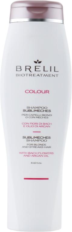 Шампунь от желтизны осветленных и седых волос - Brelil Bio Treatment Colour Shampoo