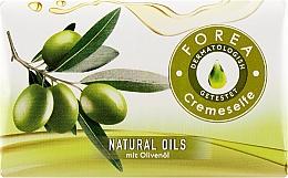 """Духи, Парфюмерия, косметика Кусковое мыло """"Натуральные оливки"""" - Forea Naturals Olive Soap"""