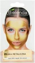 Духи, Парфюмерия, косметика Маска с содержанием металлов для зрелой и чувствительной кожи - Bielenda Gold Detox