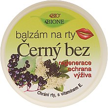 "Парфумерія, косметика Бальзам для губ ""Чорна бузина"" - Bione Cosmetics Lip Balm"