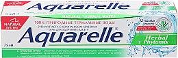 "Духи, Парфюмерия, косметика Зубная паста ""Herbal+Phytomix"" - Sts Cosmetics Aquarelle Toothpaste"