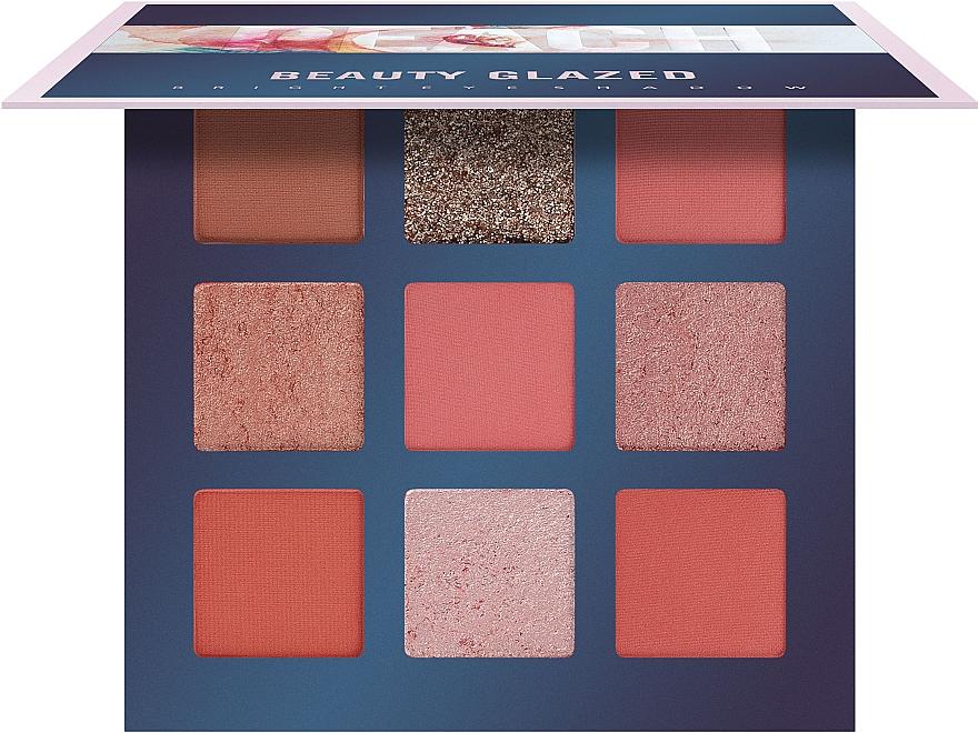 Палетка теней для век, 9 цветов - Beauty Glazed 9 Colors Eyeshadow Palette