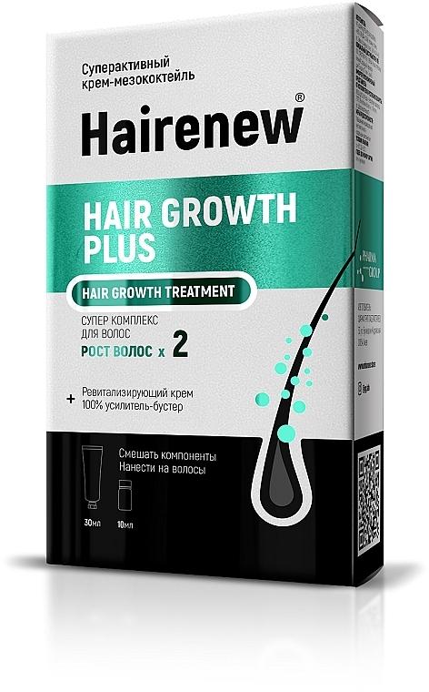 "Инновационный комплекс для волос ""Рост волос Х 2"" - Hairenew Hair Growth Plus Treatment"