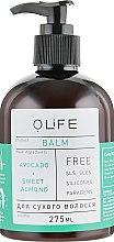 """Духи, Парфюмерия, косметика Бальзам для сухих волос """"Авокадо,Миндаль"""" - Organic Life Balm"""