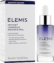 Духи, Парфюмерия, косметика Ночной восстанавливающий AHA пилинг-крем - Elemis Peptide4 Overnight Radiance Peel