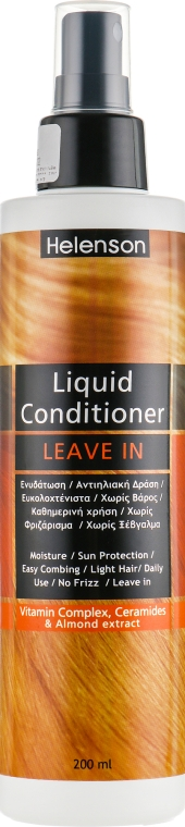 Спрей-кондиционер для волос - Mediterraneum Helenson Hair Liquid Conditioner