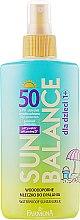 Водостойкое молочко для детей - Farmona Sun Balance Milk SPF 50 — фото N1