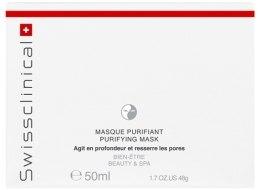 Духи, Парфюмерия, косметика Очищающая маска для лица - Swissclinical Prime Purifying Mask