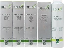Духи, Парфюмерия, косметика Набор - Green Light Relive Scalp Wellness (sh/250ml + fluid/150ml + gel/lotion/2x125ml + drops/100ml)