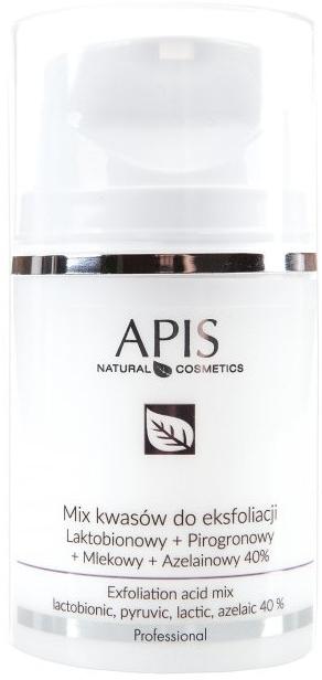 Смесь кислот для пилинга - APIS Professional Lacticion + Pirogron + Milk + Azelaine 40%