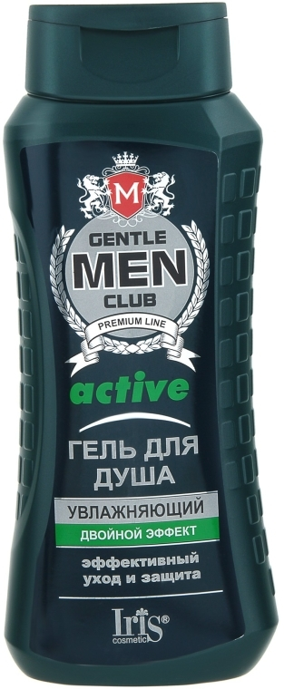 """Гель для душа """"Active"""" увлажняющий - Iris Cosmetic Gentlemen Club"""
