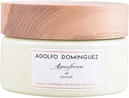 Духи, Парфюмерия, косметика Adolfo Dominguez Agua Fresca de Azahar - Крем для тела