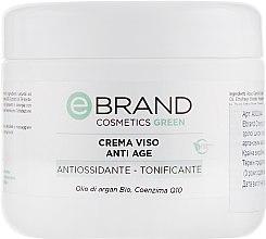 Духи, Парфюмерия, косметика Крем для зрелой кожи с коферментом Q10, арагановым маслом и пшеничными протеинами - Ebrand Crema Viso Anti-Age