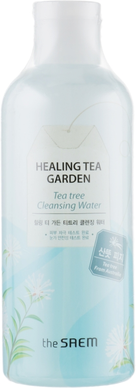 Очищающая вода с чайным деревом - The Saem Healing Tea Garden Tea Tree Cleansing Water