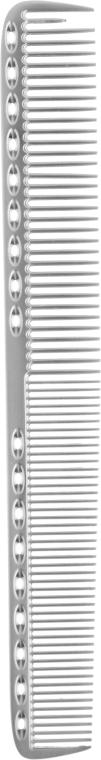 Расческа для волос, металлическая, 13700, серая - SPL Metal Hair Combs