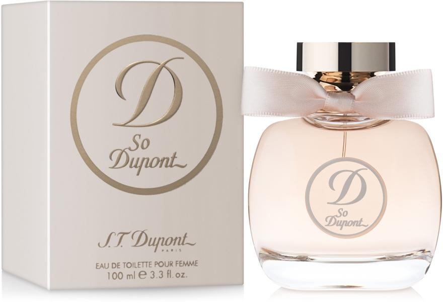 S.T. Dupont So Dupont Pour Femme - Туалетная вода