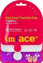 Духи, Парфюмерия, косметика Маска для ногтей - Imface Nail Mask Twinkly Star