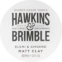 Духи, Парфюмерия, косметика Помада для волос - Hawkins & Brimble Elemi & Ginseng Matt Clay