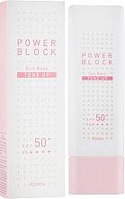 Духи, Парфюмерия, косметика Солнцезащитная выравнивающая основа - A'pieu Power Block Tone Up Sun Base Pink