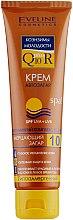 Парфумерія, косметика Крем для автозасмаги 4в1 SPF10 - Eveline Cosmetics Sun Cream