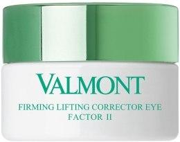 Подтягивающий корректирующий крем для кожи вокруг глаз Фактор II - Valmont Firming Lifting Corrector Eye Factor II — фото N3