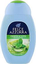 "Духи, Парфюмерия, косметика Гель для душа ""Мята и лайм"" - Felce Azzurra Shower-Gel"