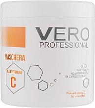 Духи, Парфюмерия, косметика Маска для окрашенных волос с витамином С - Vero Professional Hair Mask Vitamin C