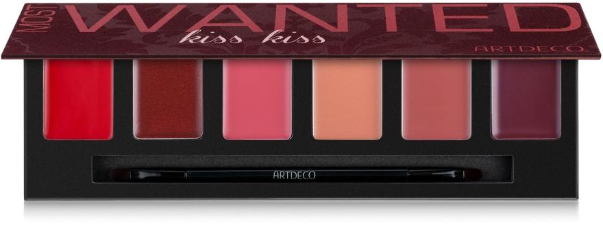 Палитра помад 6 оттенков - Artdeco Most Wanted Lip Palette