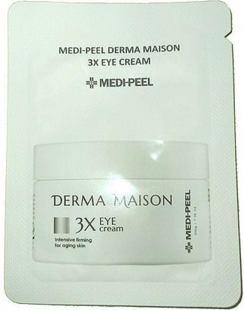 Крем для глаз со стволовыми клетками и пептидами - Medi-peel Derma Maison 3x Eye Cream (пробник)