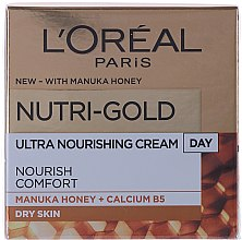 Духи, Парфюмерия, косметика Увлажняющий дневной крем для лица - L'Oreal Paris Nutri Gold Day Cream