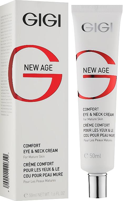 Крем для вік і шиї - Gigi New Age Comfort Eye & Neck Cream — фото N2