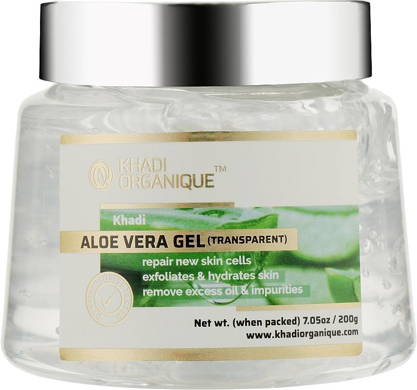 Натуральный гель Алоэ Вера для волос и кожи (прозрачный) - Khadi Organique Aloevera Gel (Transparent)