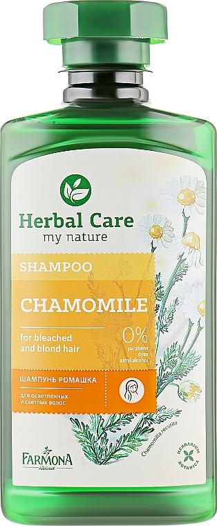 "Шампунь для волос ""Ромашковый"" - Farmona Herbal Care Chamomile Shampoo"