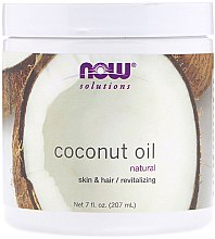 Парфумерія, косметика Масло кокосове - Now Foods Solution Natural Coconut Oil