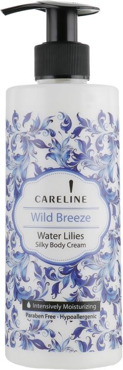 Крем для тела с ароматом водяной лилии - Careline Wild Breeze Water Lilies