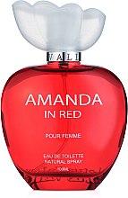 Lotus Valley Amanda in Red - Туалетная вода — фото N2