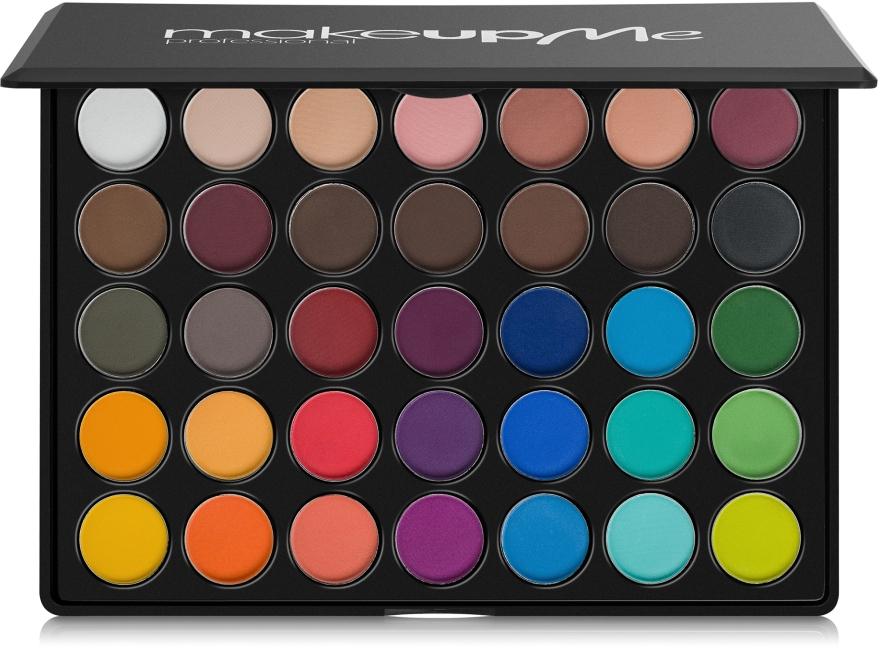 Профессиональная палитра теней 35 цветов, Y35 - Make Up Me