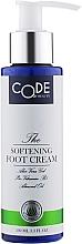 Духи, Парфюмерия, косметика Смягчающий крем для ног - Code Of Beauty Softening Foot Cream