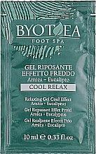 Духи, Парфюмерия, косметика Расслабляющий гель с охлаждающим эффектом - Byothea Anti-cellulite Gel Cooling (пробник)