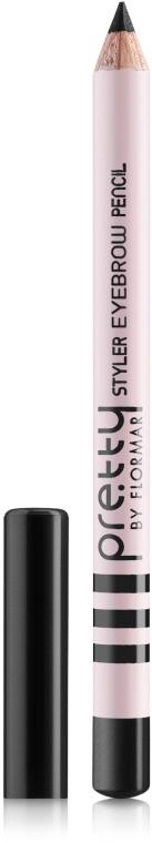 Карандаш для бровей - Flormar Pretty Styler Eyebrow Pencil