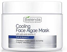 Духи, Парфюмерия, косметика Альгинатная маска для лица с рутином и витамином С - Bielenda Professional Cooling Face Algae Mask