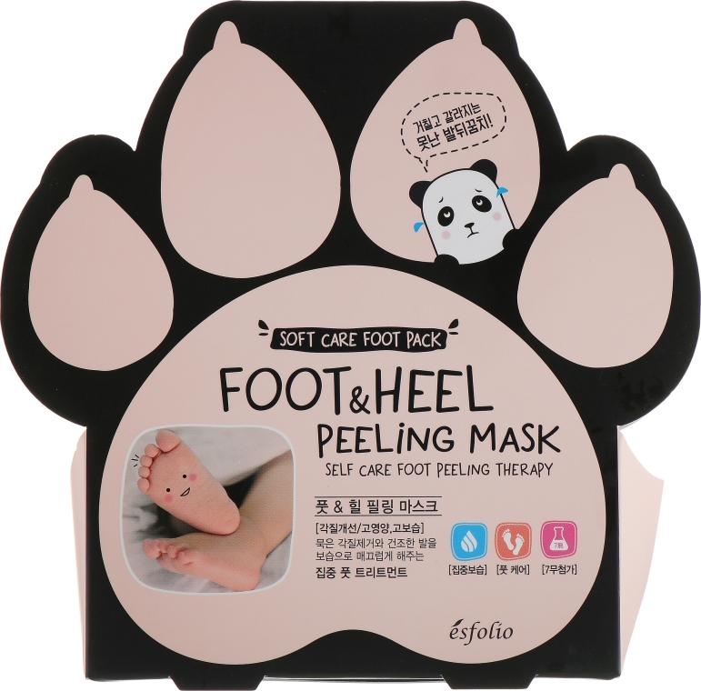 Пилинг-носочки для стоп - Esfolio Foot & heel Peeling Mask